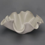 Dawson Morgan White Centerpiece Medium Oval 15x14x7