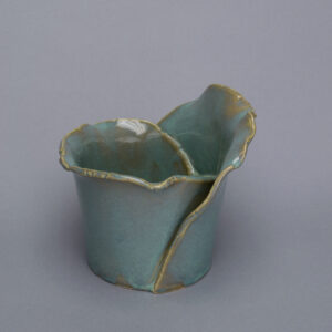 Dawson Morgan Vessel Vase Vertigris Small Cylinder 6x7x6
