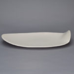 Dishware_White_Matte_Medium_Oval_15x7x3